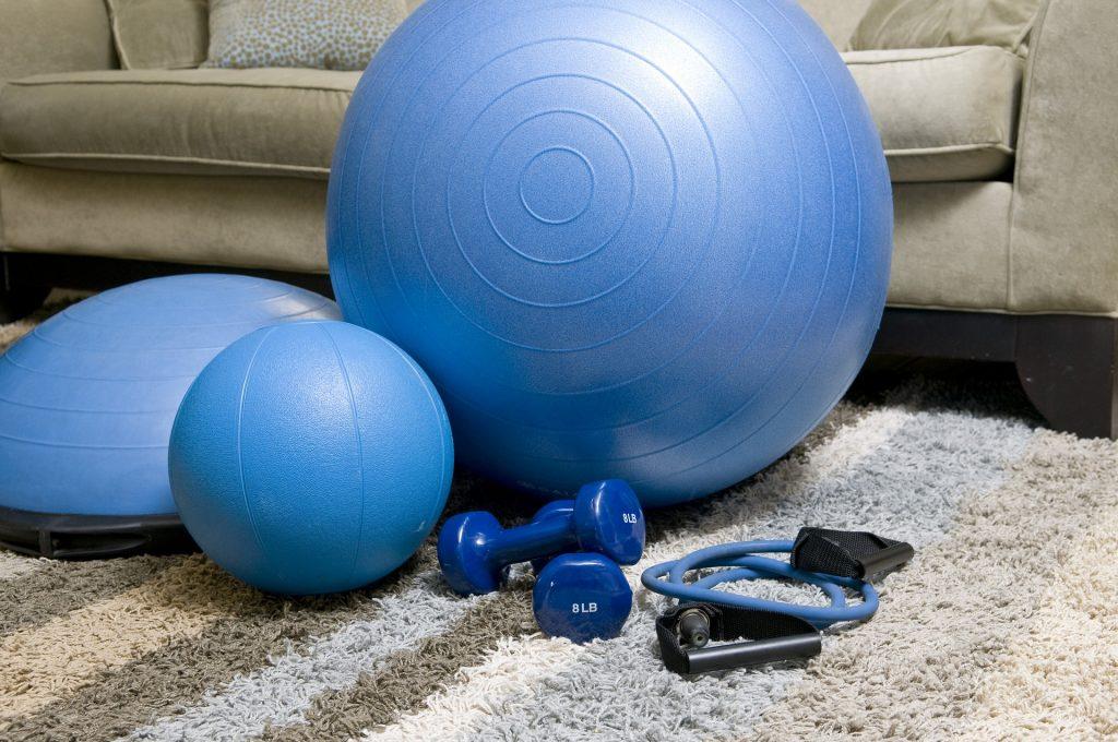 Edzéshez szükséges eszközök az otthonodba